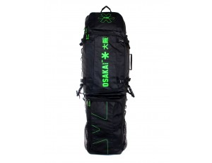 Brandshops - Hockeytassen - Osaka hockey - Sticktassen -  kopen - Osaka CUSTOM STICKBAG BLACK GREEN
