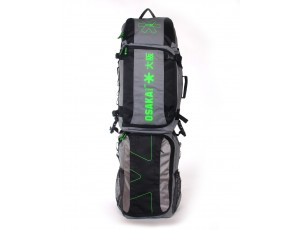 Brandshops - Hockeytassen - Osaka hockey - Sticktassen -  kopen - Osaka CUSTOM STICKBAG GUN METAL GREEN