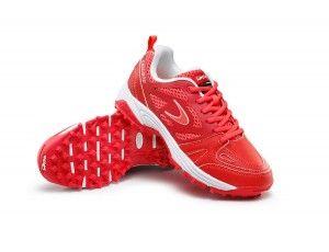 Dita hockeyschoenen - Hockey outlet - Hockeyschoenen - Junior hockeyschoenen - Schoenen -  kopen - Dita Callisto rood/wit | 25% DISCOUNT DEALS