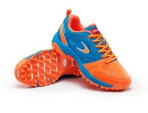 Dita hockeyschoenen - Hockeyschoenen - Junior hockeyschoenen -  kopen - Dita Callisto blauw/oranje
