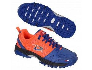 Dita hockeyschoenen - Hockey outlet - Hockeyschoenen - Junior hockeyschoenen - Schoenen - Sticks -  kopen - Dita Callisto oranje/blauw (Aktie)