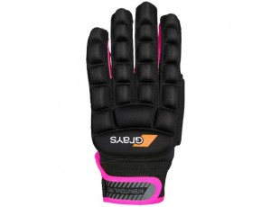 Hockeyhandschoenen - Protectie -  kopen - Grays International Pro Glove Neonroze Links