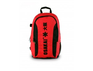Brandshops - Hockeytassen - Osaka hockey - Rugzakken -  kopen - Osaka SENIOR LARGE BACKPACK – RED / BLACK