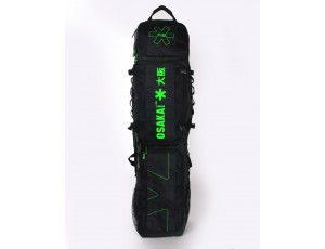 Brandshops - Hockeytassen - Osaka hockey - Sticktassen -  kopen - Osaka LARGE STICKBAG BLACK GREEN