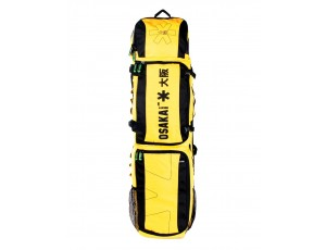 Brandshops - Hockeytassen - Osaka hockey - Sticktassen -  kopen - Osaka LARGE STICKBAG YELLOW BLACK