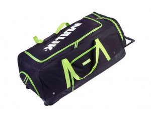 Hockeytassen - Keepertassen -  kopen - Malik Goaliebag Wheeli Black