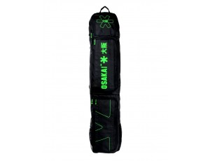 Brandshops - Hockeytassen - Osaka hockey - Sticktassen -  kopen - Osaka MEDIUM STICKBAG BLACK GREEN