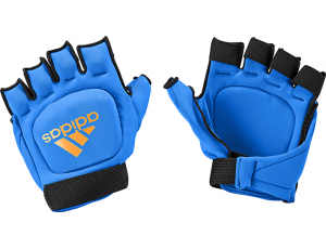Hockeyhandschoenen - Adidas Brandshop -  kopen - Adidas Hockey OD Glove Blue Orange