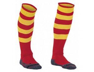 Hockeykleding - Hockeysokken - Reece Australia - Standaard kousen - kopen - Reece Original sock rood/geel