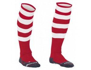 Hockeykleding - Hockeysokken - Reece Australia - Standaard kousen - kopen - Reece Original sock rood/wit