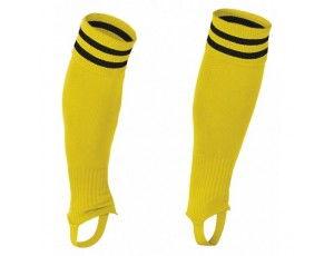Hockeykleding - Hockeysokken - Reece Australia - Voetloze kousen - kopen - Reece / Stanno Ring footless sock geel/zwart