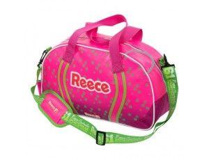 Hockeytassen - Shoulderbags - kopen - Reece Simpson Hockeybag roze/groen