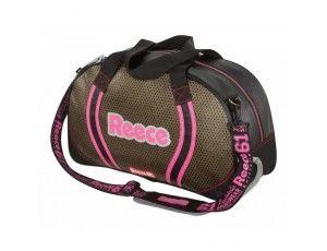 Hockeytassen - Shoulderbags - kopen - Reece Simpson Hockeybag zwart/goud