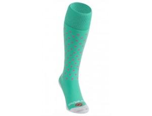 Fantasy Socks - Hockeysokken - kopen - Brabo Socks Dots – Lime/Pink