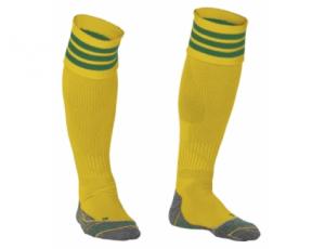 Hockeykleding - Hockeysokken - Standaard kousen - kopen - Stanno Ring Sock Geel/Groen