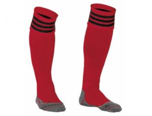 Hockeykleding - Hockeysokken - Standaard kousen - kopen - Stanno Ring Sock Rood/Zwart