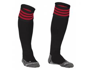 Hockeykleding - Hockeysokken - Standaard kousen - kopen - Stanno Ring Sock Zwart/Rood