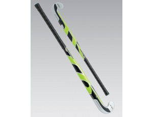 Hockeysticks - Junior sticks - Sticks - TK - kopen - TK Synergy S Junior Late Bow Zwart Lime ACTIE