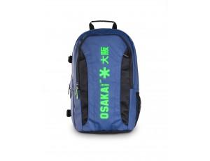 Brandshops - Hockeytassen - Osaka hockey - Rugzakken -  kopen - Osaka x LARGE BACKPACK – NAVY / GREEN + Laptop pocket | 25% DISCOUNT DEALS