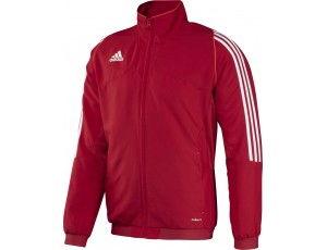 Adidas teamkleding - Hockey outlet - Hockey trainingsjassen - Hockeykleding - Overig - T12 teamkleding - kopen - Adidas T12 Jacket Men Red (Aktie)