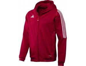 Adidas teamkleding - Hockey outlet - Hockey truien - Hockeykleding - Overig - T12 teamkleding - kopen - Adidas T12 Hoody Men Red (Aktie)