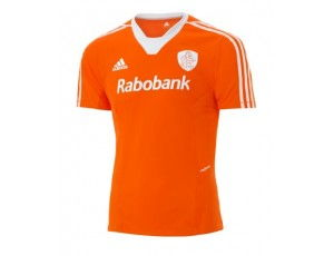 Adidas Brandshop - Hockey t-shirts - Hockeykleding - KNHB kleding - kopen - Adidas KNHB Replica shirt Men Oranje SUPERAANBIEDING
