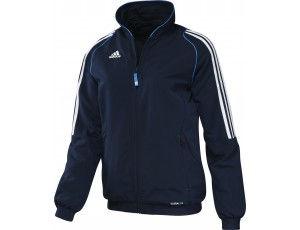Adidas teamkleding - Hockey outlet - Hockey trainingsjassen - Hockeykleding - Overig - T12 teamkleding - kopen - Adidas T12 Jacket Women Navy (Aktie)