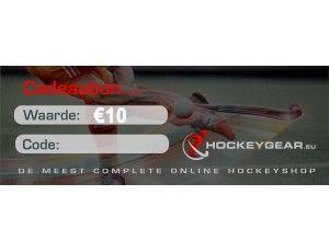 Cadeau bonnen - Hockey accessoires - Cadeaus en gadgets - kopen - Cadeaubon €10 tot €250