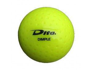 Clubmaterialen bulk - Hockeyballen - Hockeyballen clubs - kopen - 120 stuks Dita wedstrijd dimple geel