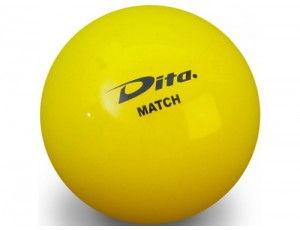 Clubmaterialen bulk - Hockeyballen - Hockeyballen clubs - kopen - 120 stuks Dita wedstrijdbal geel