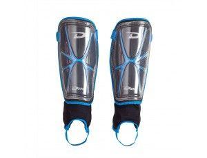Hockey outlet - Overig - Protectie - Scheenbeschermers - kopen - Dita Shinguard Giga Lite Senior Zwart/Lichtblauw (Aktie)