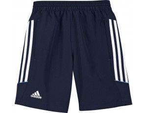 Adidas teamkleding - Hockey broeken - Hockey outlet - Hockeykleding - T12 teamkleding - kopen - Adidas T12 Woven Short Youth Navy (Aktie)