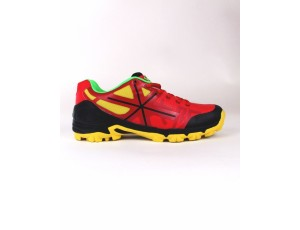 Brandshops - Hockey outlet - Hockeyschoenen - Junior hockeyschoenen - Osaka hockey - Osaka hockeyschoenen - Schoenen -  kopen - Osaka KIDS SHOE PRO TOUR KIDS RED / BLACK / YELLOW | 25% DISCOUNT DEALS