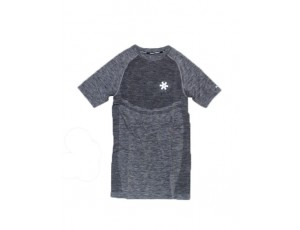 Hockey shirts - Hockeykleding - Osaka kleding - kopen - Osaka Tech Knit Short Sleeve Tee Men – Black Melange