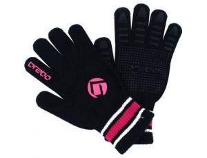 Hockeyhandschoenen - Protectie -  kopen - Brabo Winterglove Extra Grip Black Pink