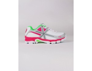 Brandshops - Hockey outlet - Hockeyschoenen - Junior hockeyschoenen - Osaka hockey - Osaka hockeyschoenen - Schoenen -  kopen - Osaka KIDS SHOE PRO TOUR KIDS WHITE / PINK / GREY | 25% DISCOUNT DEALS
