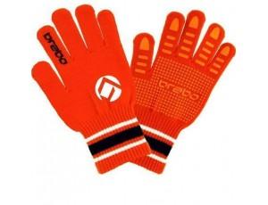 Hockeyhandschoenen - Protectie -  kopen - Brabo Winterglove Extra Grip Orange