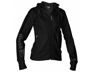 Hockey outlet - Hockey truien - Hockeykleding - Overig - Reece Australia - kopen - Reece Hooded Sweat Full Zip ladies Zwart SR