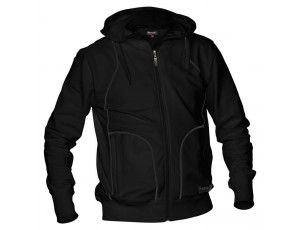 Hockey outlet - Hockey truien - Hockeykleding - Overig - Reece Australia - kopen - Reece Hooded Sweat Full Zip Unisex Zwart SR