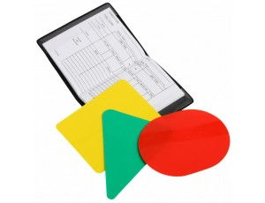 Hockey accessoires - Referee, coach en trainer - kopen - Scheidsrechter kaarten set