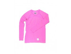 Hockey shirts - Hockeykleding - Osaka kleding - kopen - Osaka Tech Knit Long Sleeve Tee Women – Pink Melange