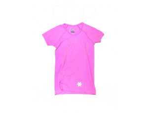 Hockey shirts - Hockeykleding - Osaka kleding - kopen - Osaka Tech Knit Short Sleeve Tee Women – Pink Melange