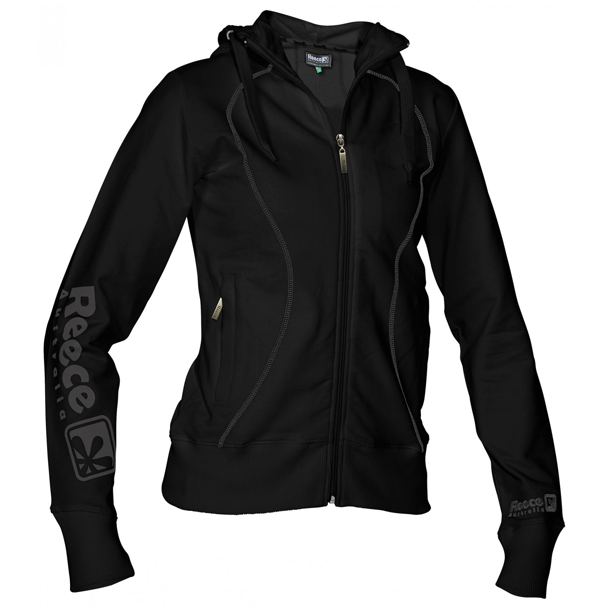 Reece Hooded Sweat Full Zip ladies Zwart SR - Koop online