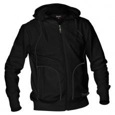 Reece Hooded Sweat Full Zip Unisex Zwart SR - Koop online