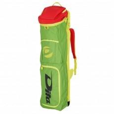 Hockeytassen - Sticktassen -  kopen - Dita Stickbag Giant groen/roze/geel TIJDELIJK UITVERKOCHT leverbaar v.a. 1 juli pre order