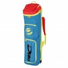 Hockeytassen - Sticktassen -  kopen - Dita Stickbag Giant blauw/roze/geel TIJDELIJK UITVERKOCHT leverbaar v.a. 1 juli pre order