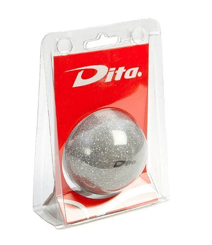 Bal in blister silver glitter