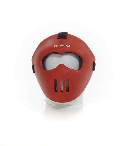 Brabo facemask junior rood