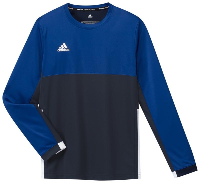 Adidas T16 Climacool Long Sleeve Tee Jeugd Jongens Navy - Online bestellen