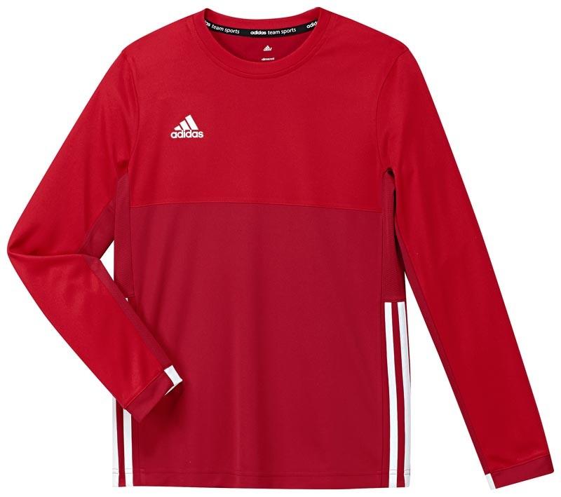 Adidas T16 Climacool Long Sleeve Tee Jeugd Jongens Red - Bestellen